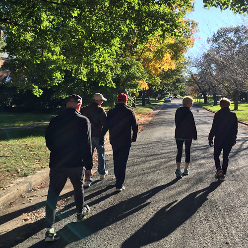 Walking Connect Group