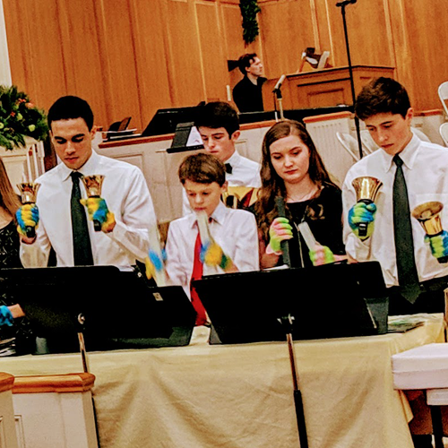 Youth Handbells Ensemble Picture