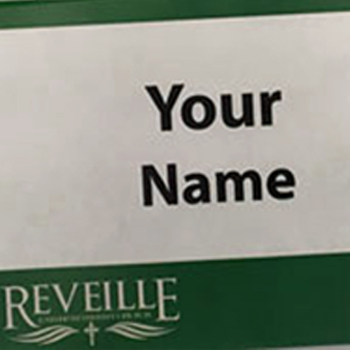 Name tag