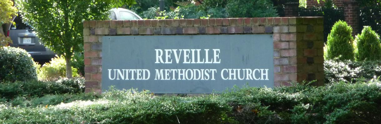 Reveille UMC Sign