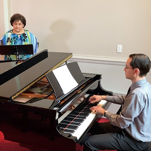 Offertory with Daniel Banke and Tamara Nicely
